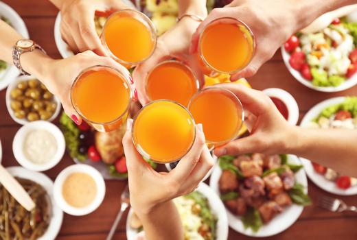 Segreta cheers mimosas