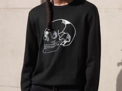 The kooples skull sweatshirt