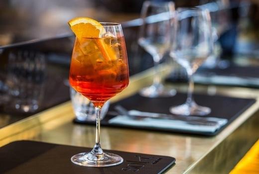 Sola pasta bar cocktail