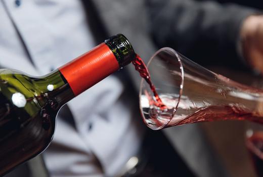 Laut singapura red wine