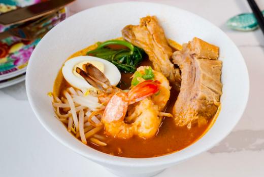 Laut singapura soup meats