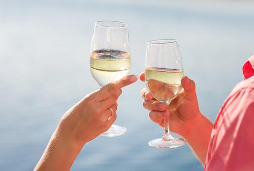 Manhattan by sail champagne cheers