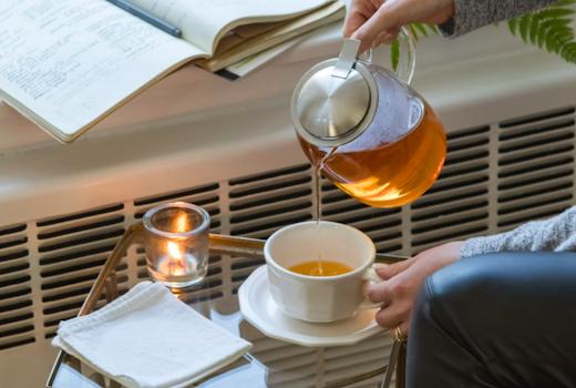 Sips by tea pour
