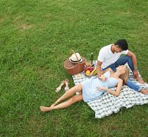 Tara rose picnic outside