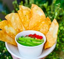 Tara rose guac chips