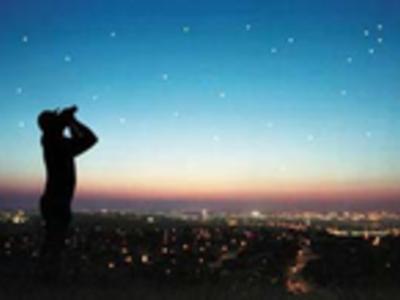 Stargazing central park