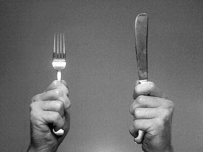 Knife fork