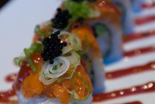 30 for 60 of food drink at amber sushi bar grill for Amber asian cuisine