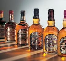 Chivas-bottles