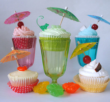 Cocktails-cupcakes