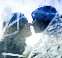 Romantic-couple-noses