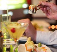Sushi-sashimi-cocktail