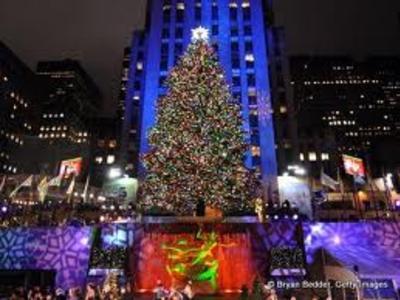 The Rockefeller Center Tree Lighting | Rockefeller Plaza | events ...