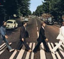 Beatles-walking