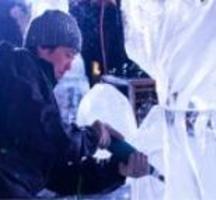 Ice-sculpting