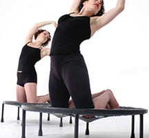 Trampoline-yoga