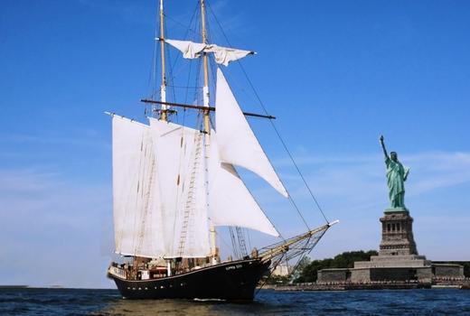 Manhattan by sail clipper