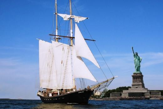 Manhattan by sail clipper