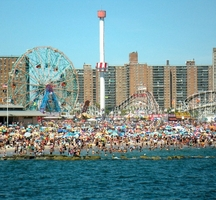 Coney Island Fireworks July Th