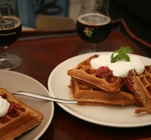 Waffles-and-beer