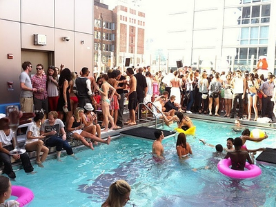 Pool Party Open Bar
