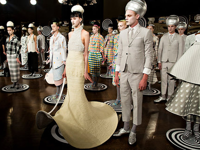 Thom Browne Sample Sale   210 11th Ave   fashion   pulsd NYC