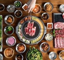 Korean-bbq-dinner