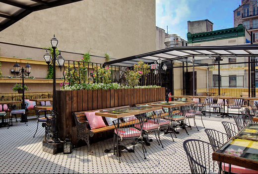 69 For A 3 Course Rooftop Dinner For Two With Drinks 135 Value Hotel Ch