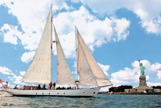 Manhattan by sail liberty