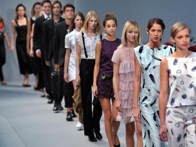 Agnes b fashion show 89