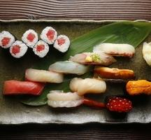 Omakase-sushi