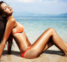 Beach-lady
