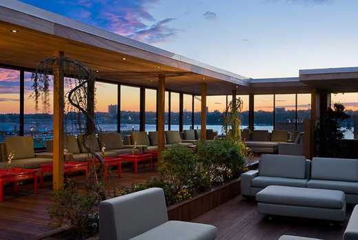 Hudson terrace rooftop