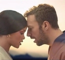Rihanna-coldplay