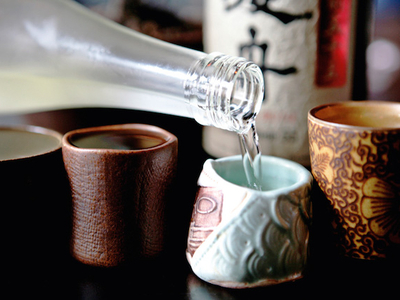 Sake tasting image