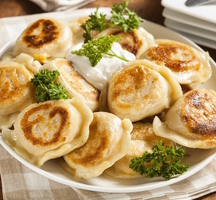 Pierogies free food nyc