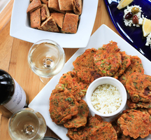 Greek food wine