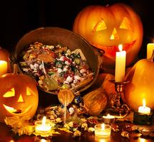 Halloweenpumpkinscandy