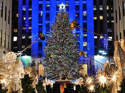 Lighting Of Rockefeller Christmas Tree.Rockefeller Center Tree Lighting Rockefeller Plaza