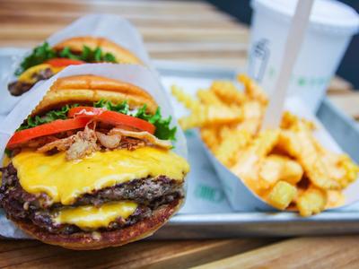 Free Shake Shack Burgers New York Ny Eats Pulsd Nyc