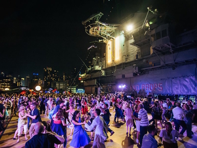 Battle Of The Big Bands: Swing Party | Intrepid Sea, Air ...