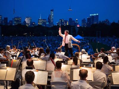 Ny philharmonic concert central park