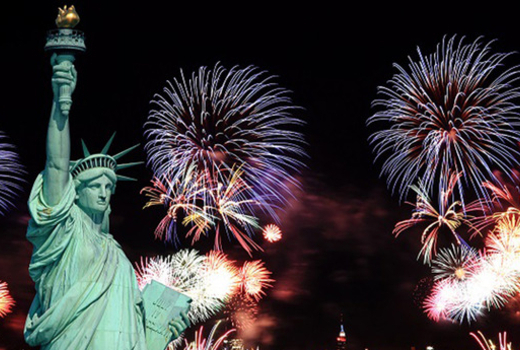 July 4th fireworks nyc