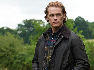 discount shop for whole family good looking Meet Sam Heughan For Barbour Launch | Macy's Herald Square ...