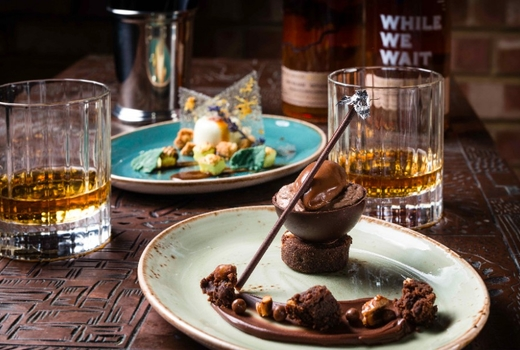 Whiskey dessert