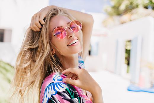 Fringe salon blonde happy summer