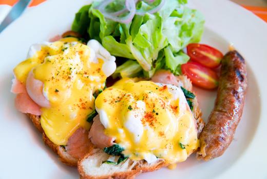 Eggs benny fusion hk cool