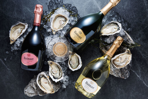 Daisy champagne oysters