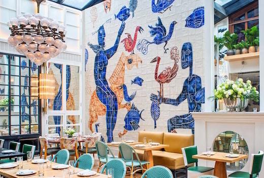 Cafe medi 107 rivington street high ceiling restaurant nyc