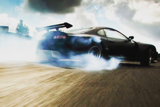 Exotic driving events drift